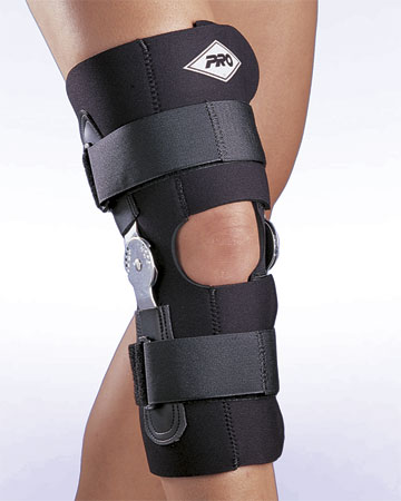 Hinged Knee Support Pro 190w Wrap Around Hinged